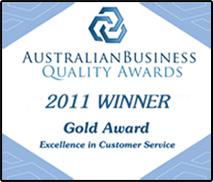 Australian Quality Business Award 2011